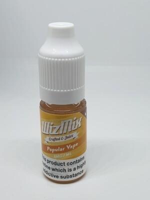 Wizmix Popular Vape 10ml 3mg 50/50