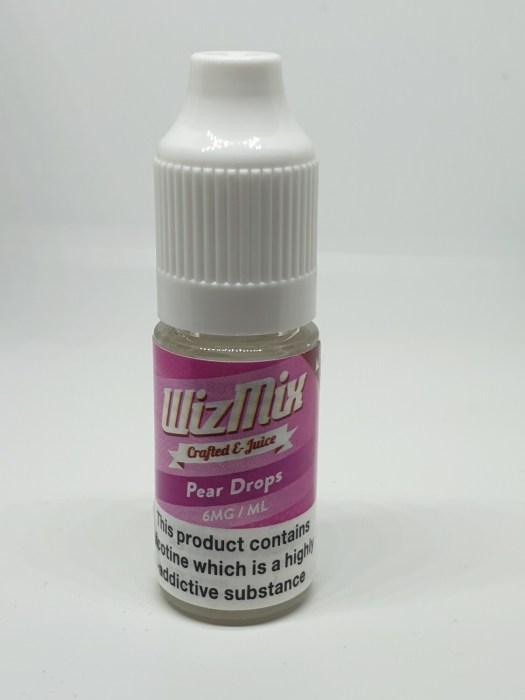 Wizmix Pear Drops 10ml 6mg 50/50