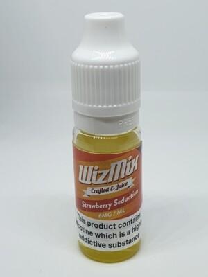 Wizmix Strawberry Seduction 10ml 6mg 50/50