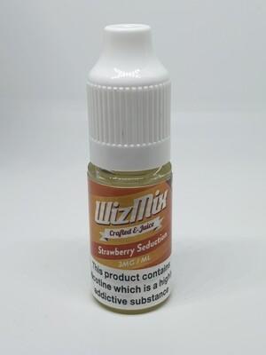 Wizmix Strawberry Seduction 10ml 3mg 50/50