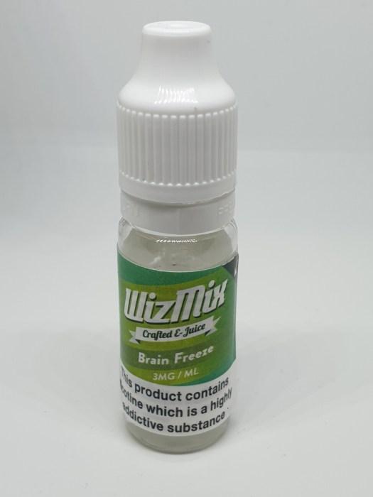 Wizmix Brain Freeze 10ml 3mg 50/50