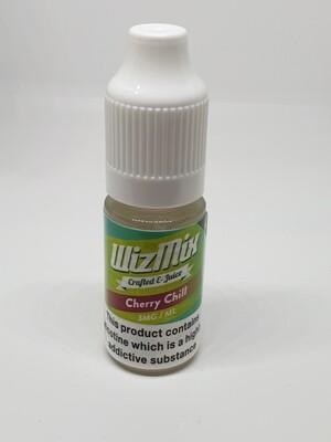 Wizmix Cherry Chill 10ml 3mg 50/50