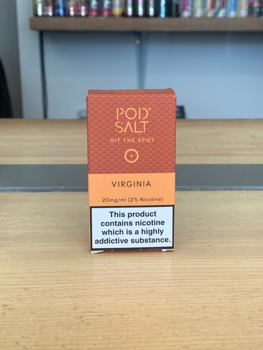 Pod Salt Virginia 10ml 20mg