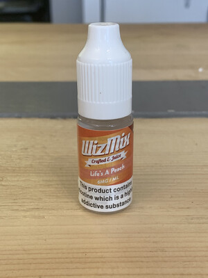 WizMix Life's A Peach 10ml 6mg 50/50