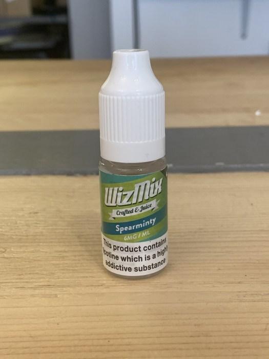 Wizmix Spearminty 10ml 6mg 50/50