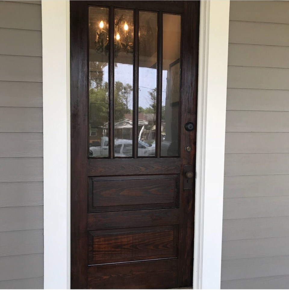 Exterior Door Color