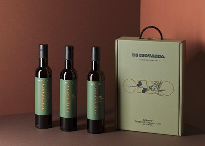 Gerbino Extra Virgin Olive Oil - 3 Bottle Gift Box
