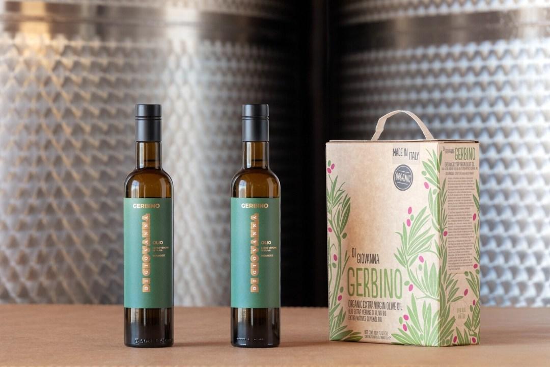 Gerbino Olio Extravergine di Oliva Biologico Box 3 Litri + 2 bottiglie 500 ml