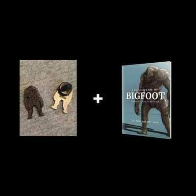 The Legend of Bigfoot and Pin. MORE BOOKS ON THE WAY!