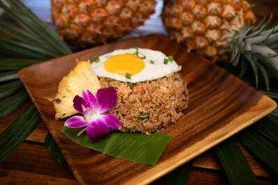 SURFER'S FRIED RICE W/ EGG