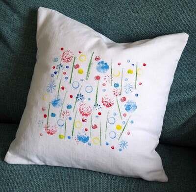 Cushion Wild Flower