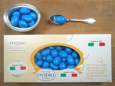 Confetto Cioccomandorla con Cioccolato Bianco Mela e Cannella Blu
