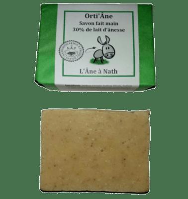 Orti'Âne, savon 30% de lait d'ânesse, saponification à froid