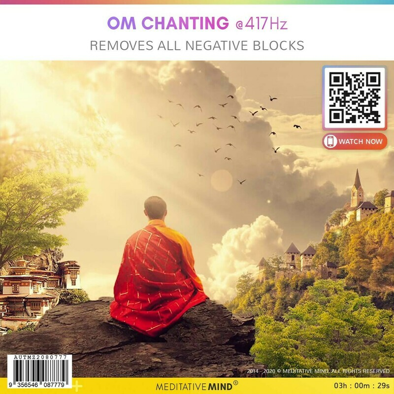 OM Chanting @417 Hz - Removes All Negative Blocks