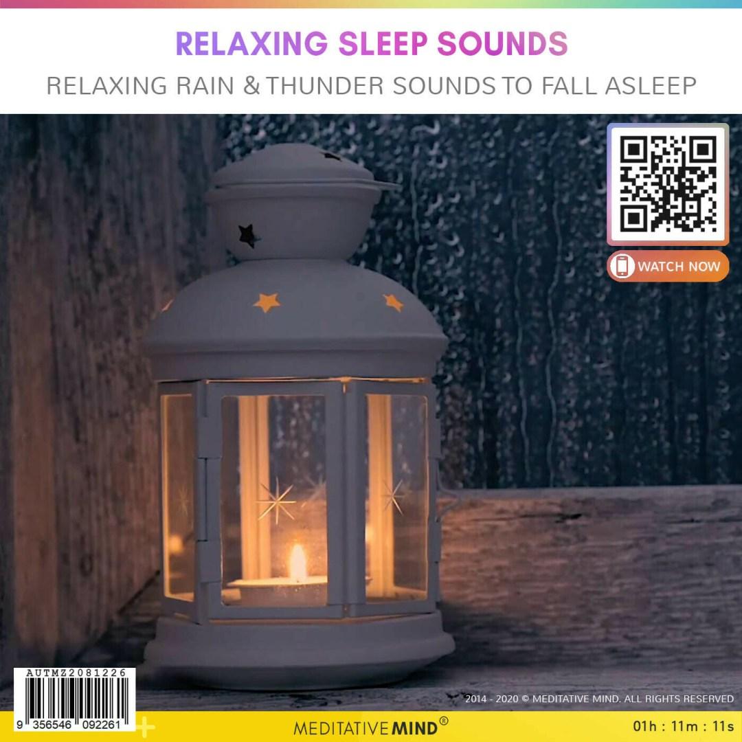 Relaxing Sleep Sounds - Relaxing Rain & Thunder Sounds to Fall Asleep