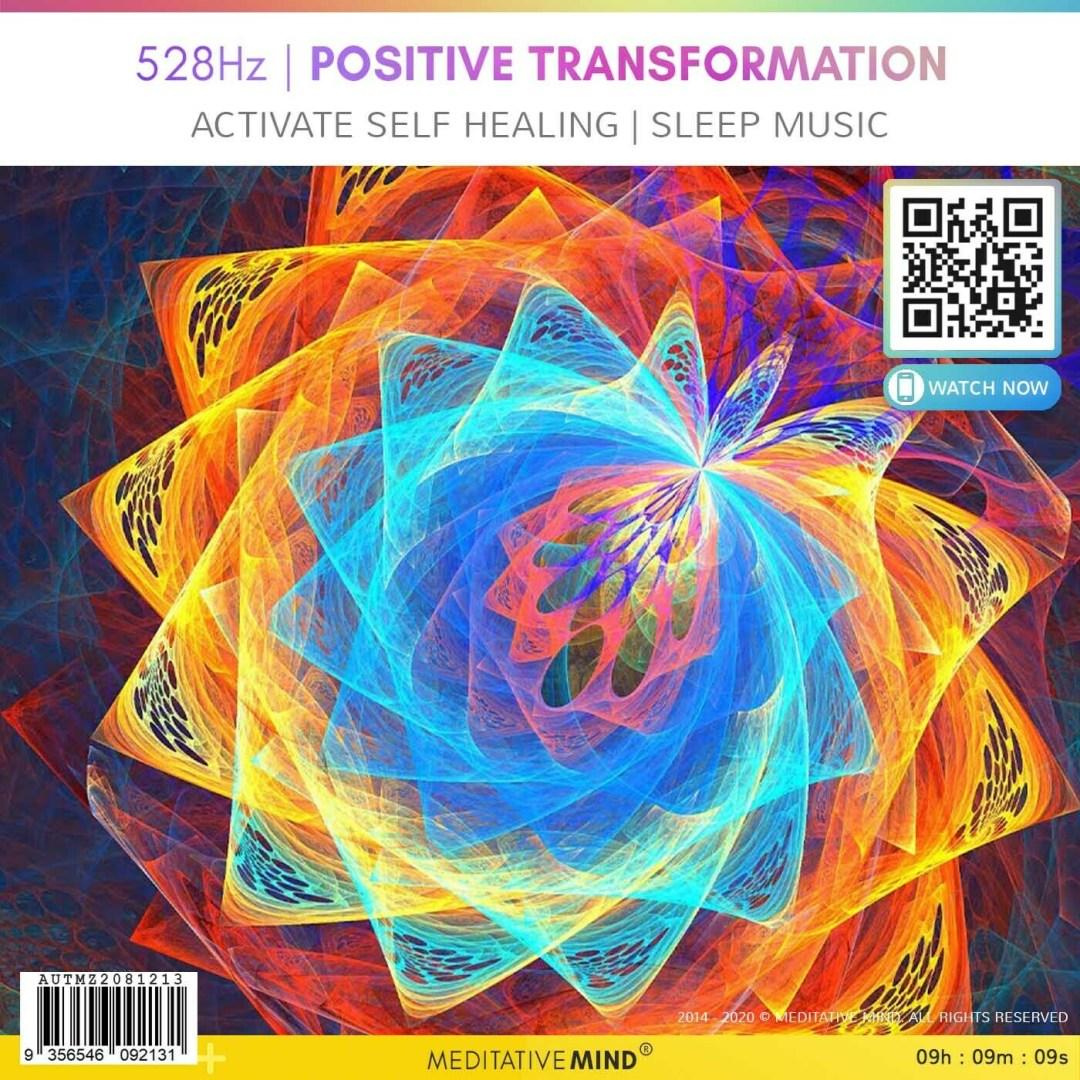 528 Hz | Positive Transformation - Activate Self Healing l Sleep Music