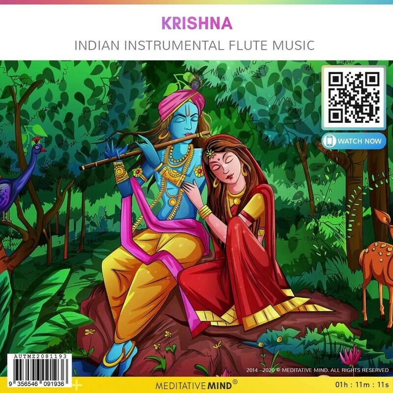 KRISHNA - Indian Instrumental Flute Music