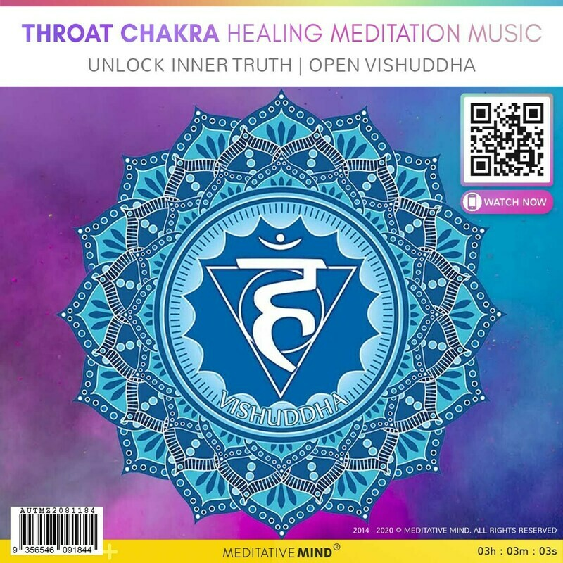 THROAT CHAKRA HEALING MEDITATION MUSIC -  Unlock Inner Truth | Open Vishuddha