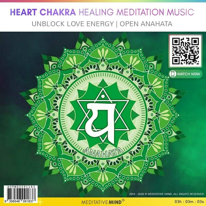 Heart Chakra Healing Meditation Music  - Unblock Love Energy | Open Anahata