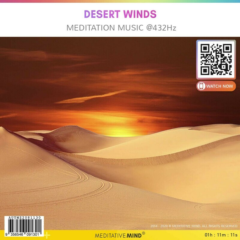 Desert Winds - Meditation Music @432hz