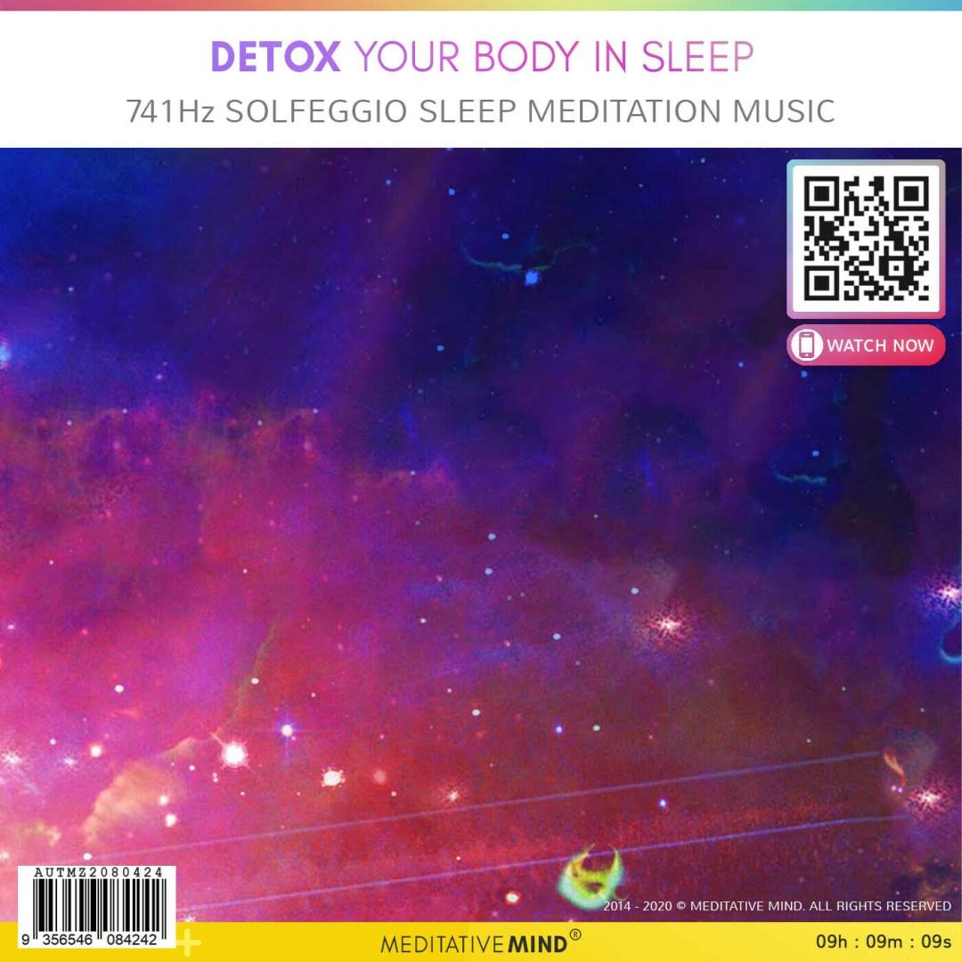 Detox Your Body in Sleep - 741Hz Solfeggio Sleep Meditation Music