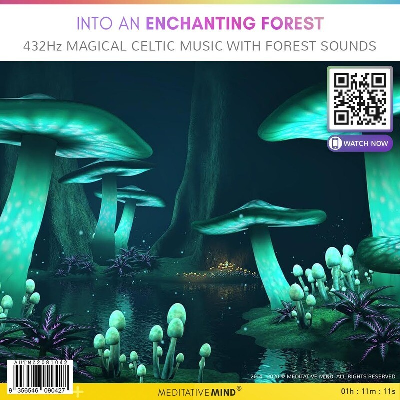 Into an Enchanting Forest - 432Hz Magical Celtic Music with Forest Sounds