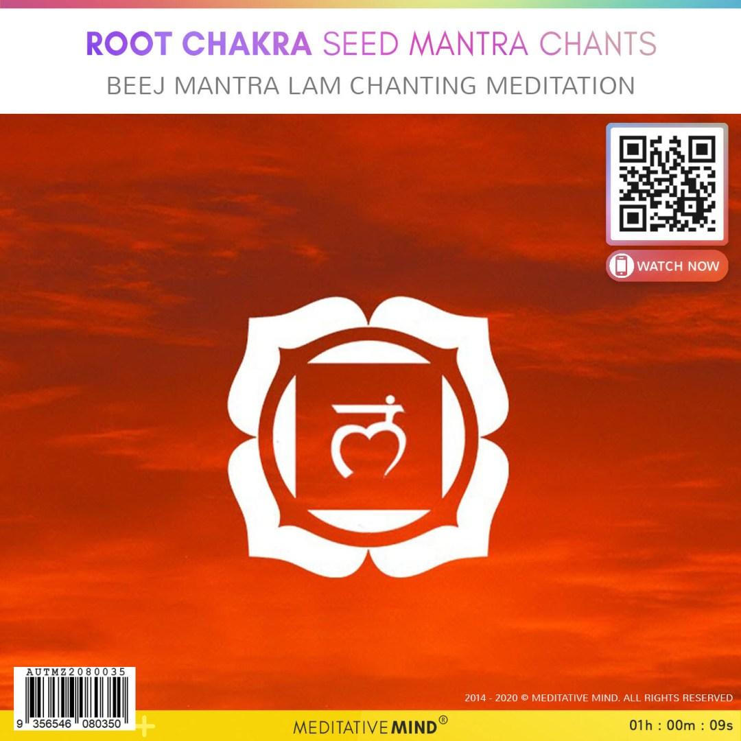 Root Chakra Seed Mantra Chants - Beej Mantra LAM Chanting Meditation