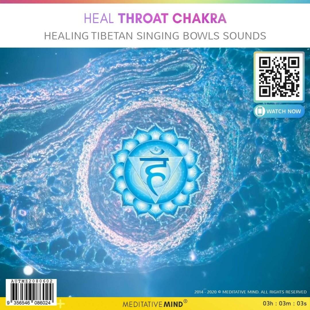 Heal Throat Chakra - Healing Tibetan Singing Bowls Sounds