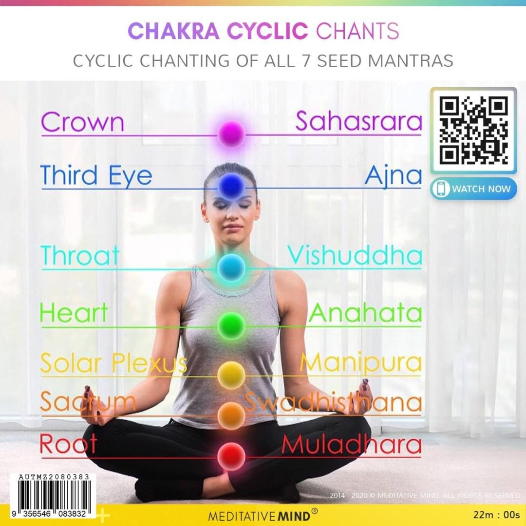 Chakra Cyclic Chants - Cyclic Chanting of All 7 Seed Mantras