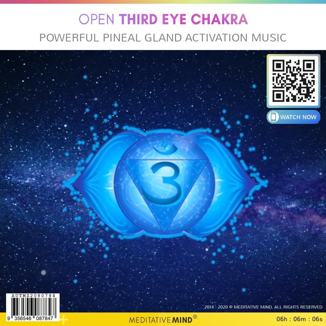 Open Third Eye Chakra - Powerful Pineal Gland Activation Music