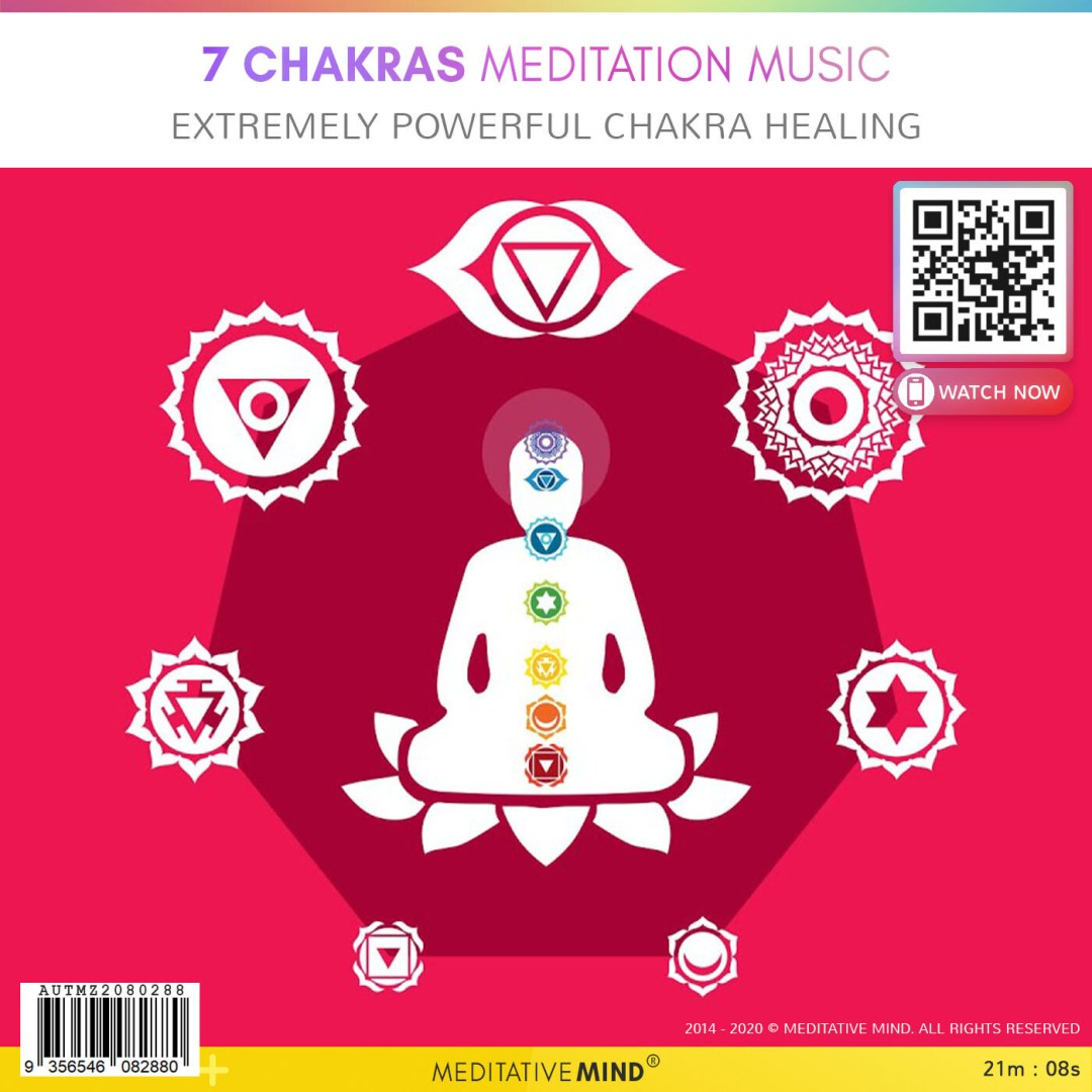 7 Chakras Meditation Music - Extremely Powerful Chakra Healing