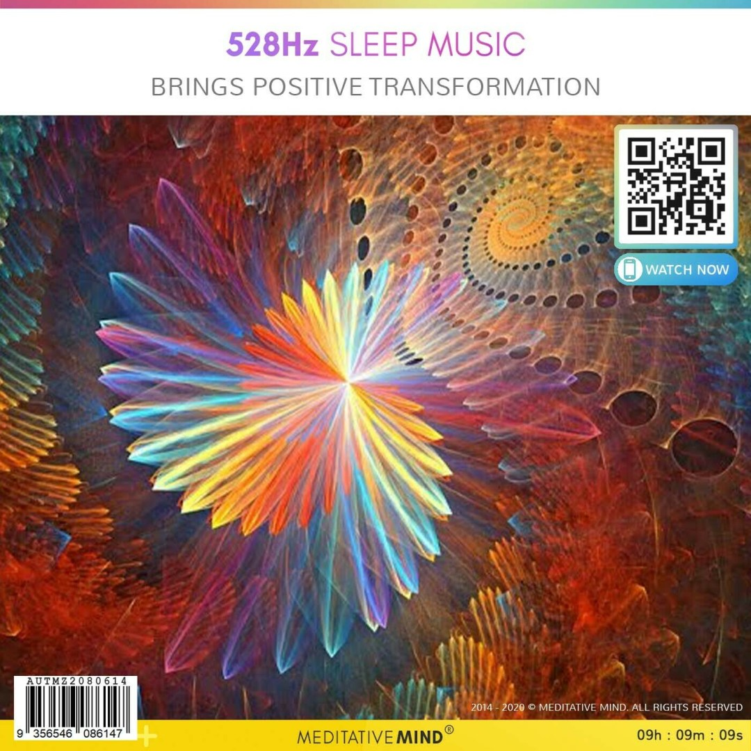 528Hz Sleep Music - Brings Positive Transformation