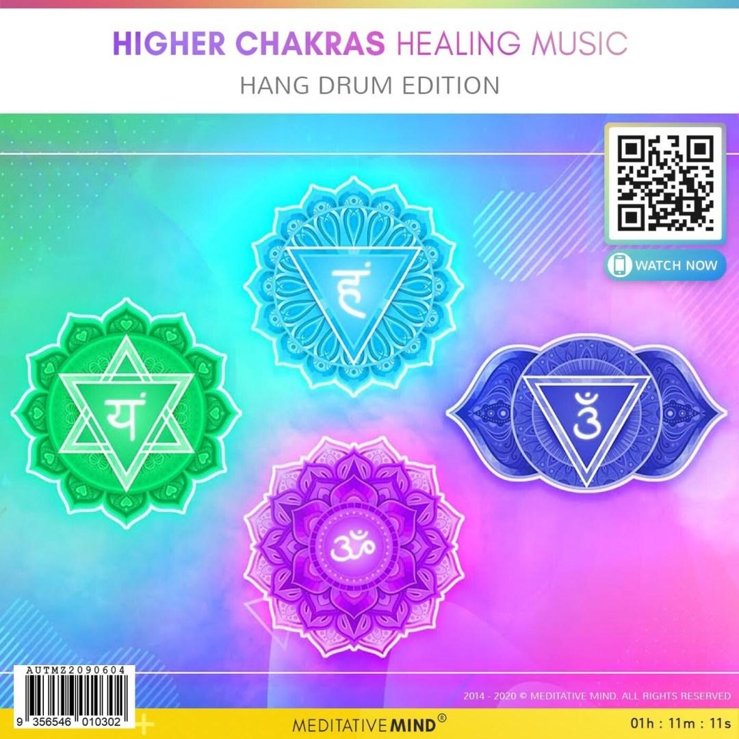 Higher Chakras Healing Music - Hang Drum Edition