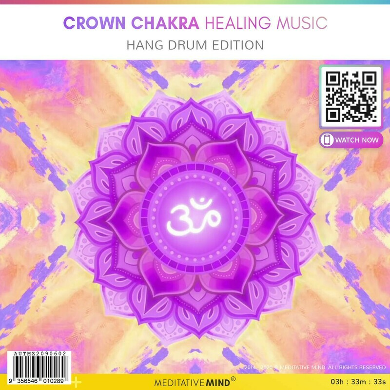 Crown Chakra Healing Music - Hang Drum Edition
