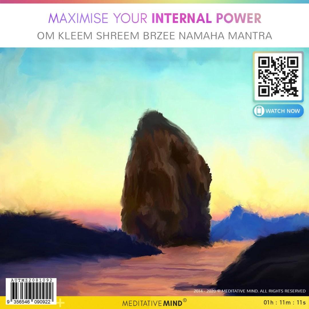MAXIMISE YOUR INTERNAL POWER - OM Kleem Shreem Brzee Namaha Mantra