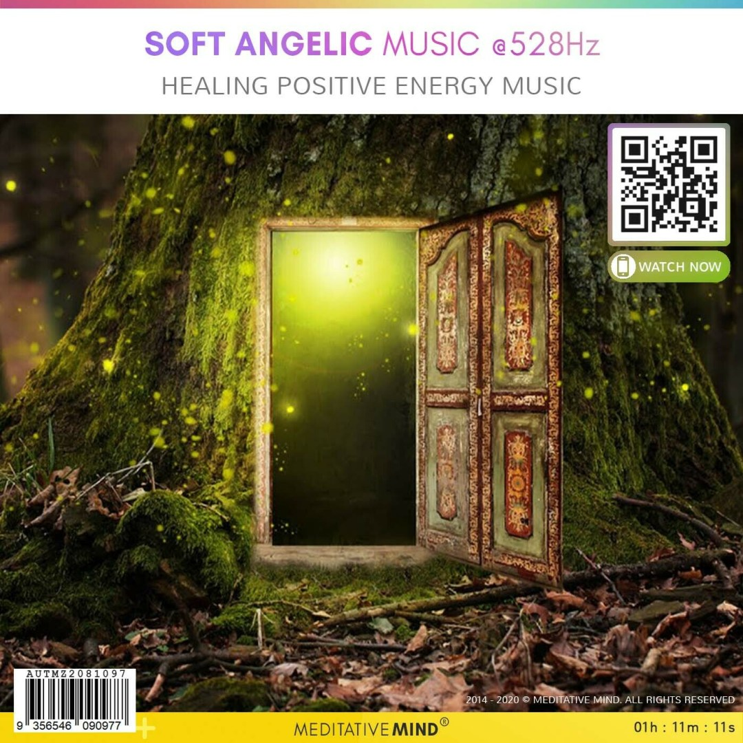 SOFT ANGELIC MUSIC @528Hz - Healing Positive Energy Music