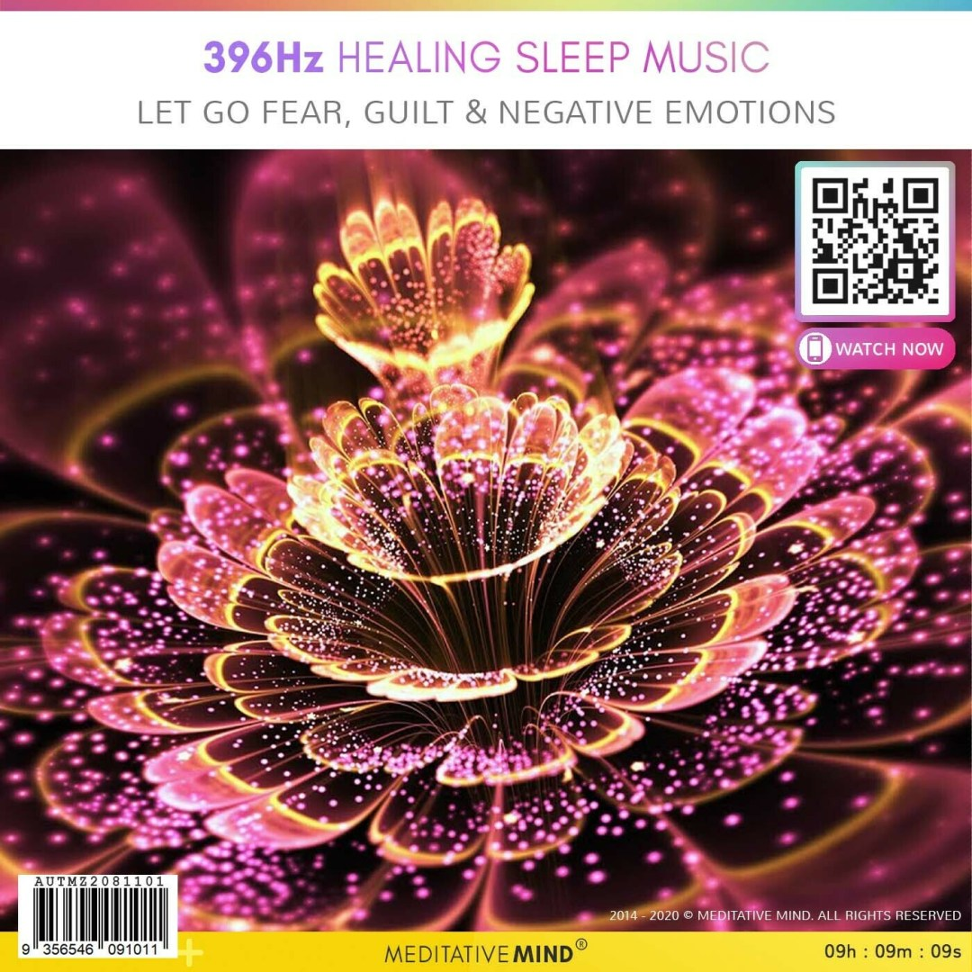 396 Hz Healing Sleep Music - LET GO Fear, Guilt & Negative Emotions