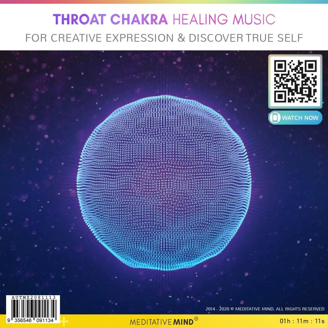 THROAT CHAKRA HEALING MUSIC - for Creative Expression&  Discover True Self