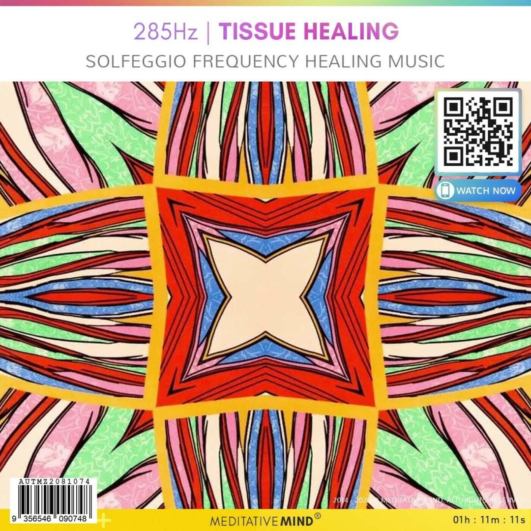 285Hz  TISSUE HEALING - Solfeggio Frequency Healing Music