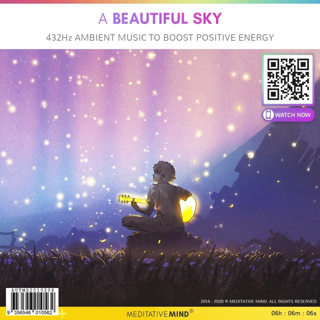 A Beautiful Sky - 432Hz Ambient Music to Boost Positive Energy