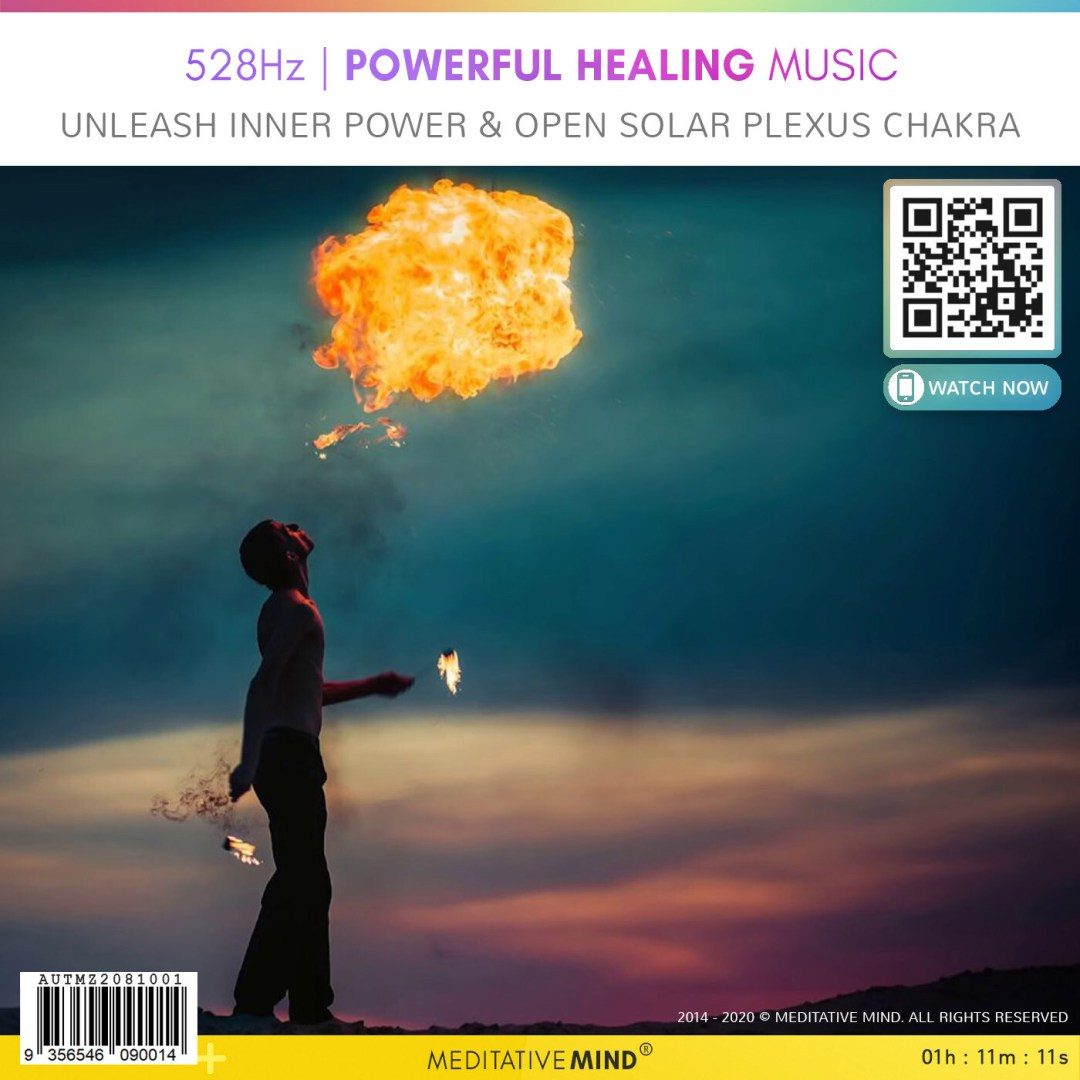 528Hz - Powerful Healing Music - Unleash Inner Power & Open Solar Plexus Chakra