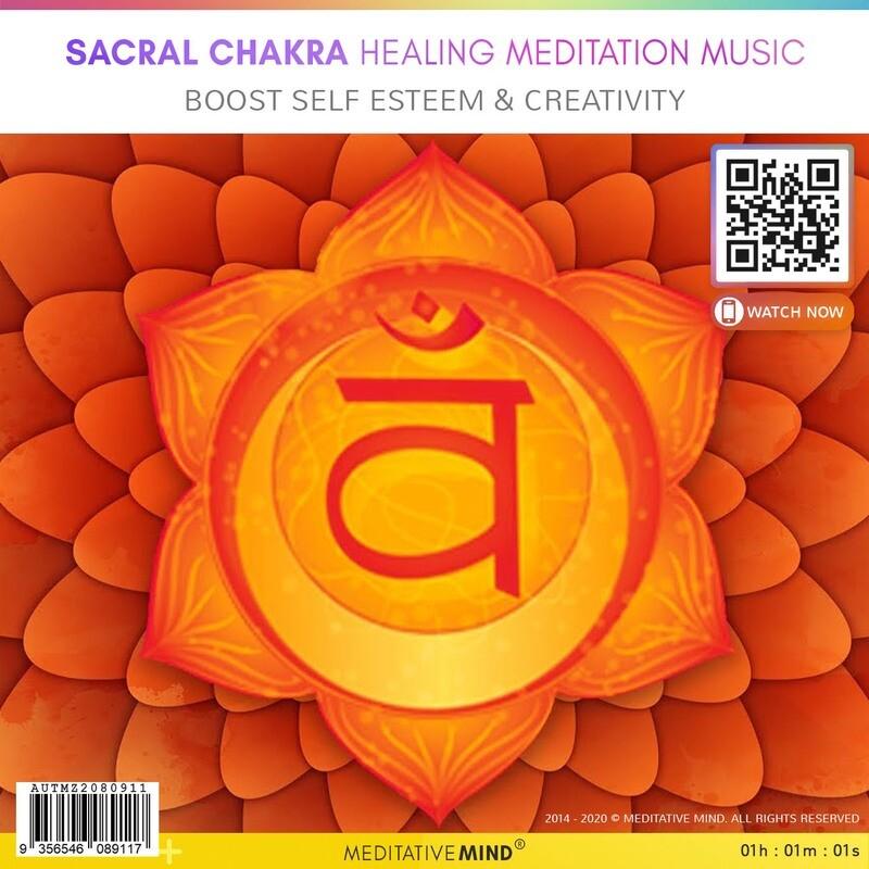 SACRAL CHAKRA Healing Meditation Music - Boost self Esteem & Creativity