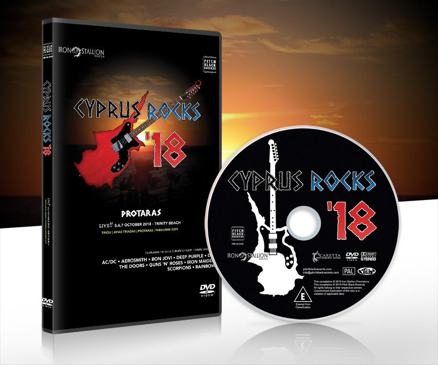 VARIOUS - Cyprus Rocks '18 (DVD)