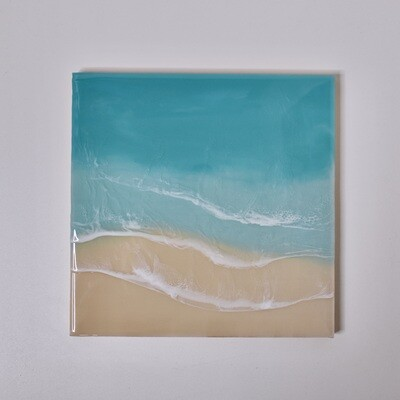 Beach Resin Painting