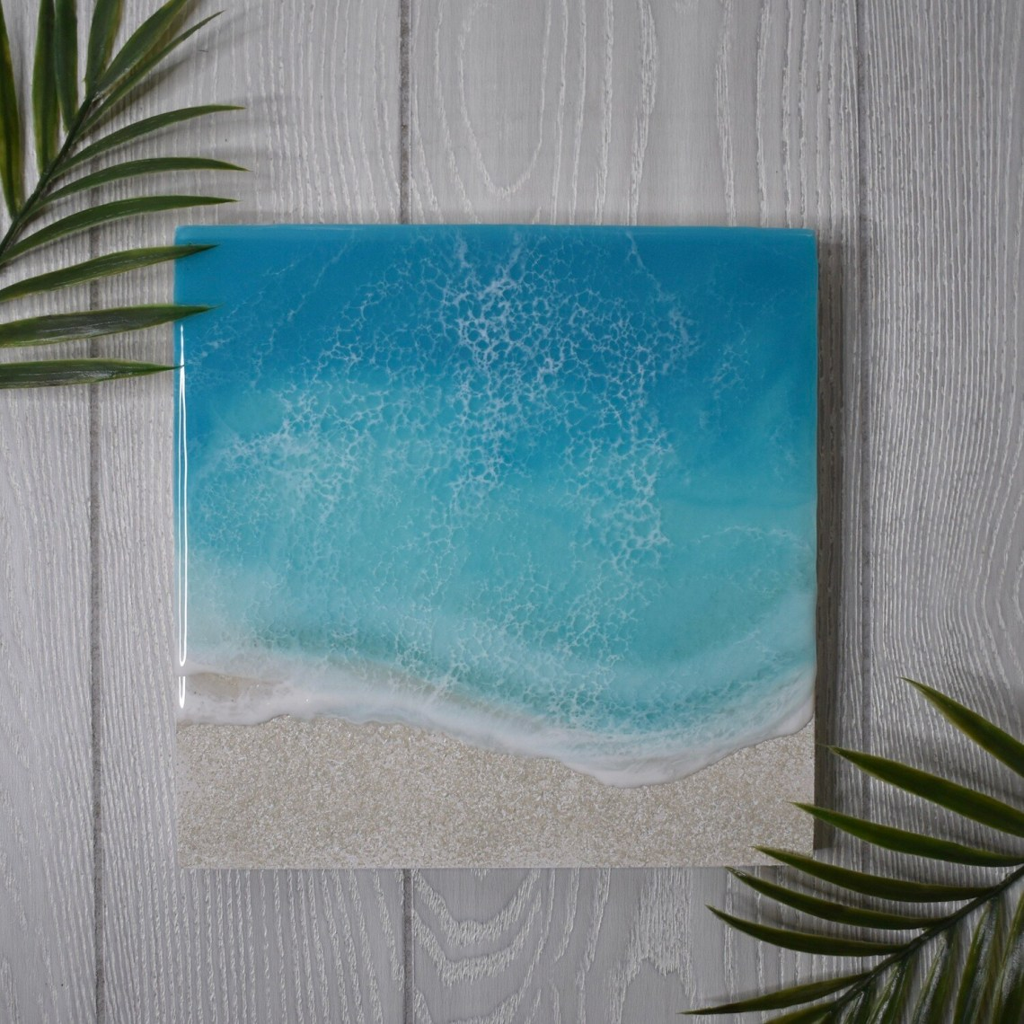 Textured Sands Turquoise Resin II