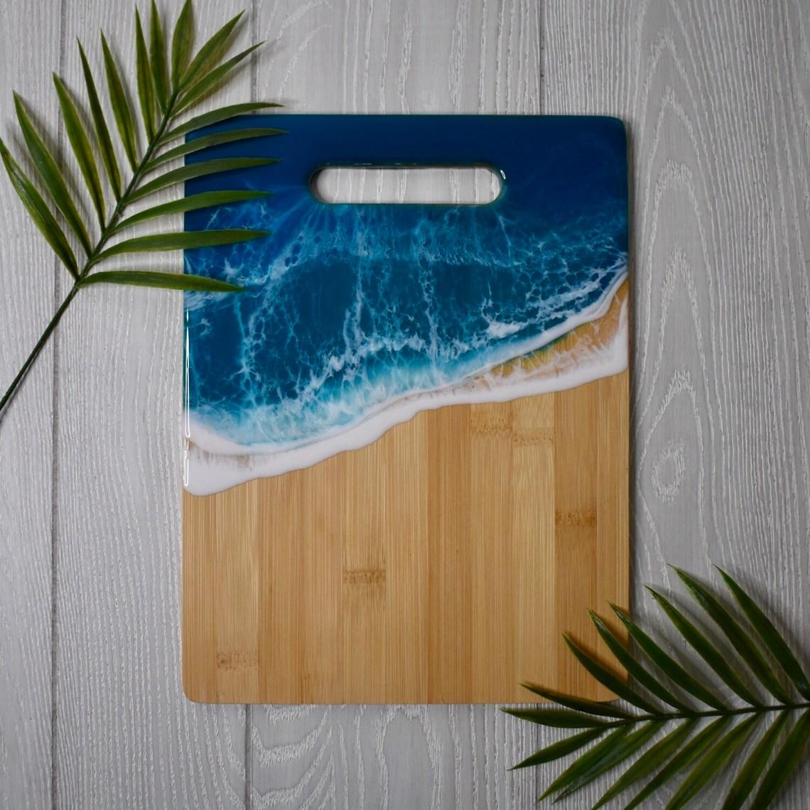 Resin Bamboo Cutting Board - II