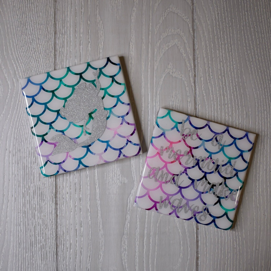 Be a Mermaid and Make Waves - Coasters