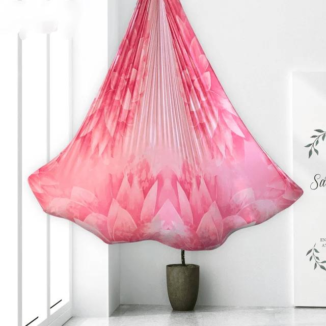 Pink Lotus Aerial Yoga Hammock / Silk