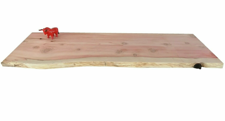 plan travail sdb bois brut sequoia 80 x 50