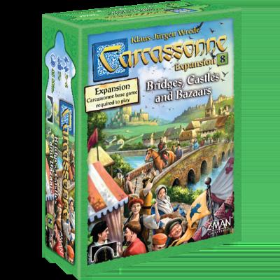 Carcassonne Expansion 8 Bridges Castles Bazaars